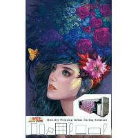 Wholesale Flags / Banner Digital Printer 3.2m Printing Width With Three Epson 4720 Heads from china suppliers