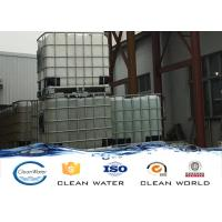 Quality Paper Making Effluent Water Decoloring Agent Light Color Liquid PH 1.5 - 3.0 for sale