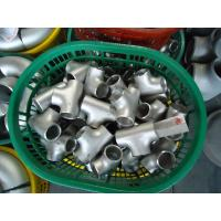 Wholesale ASME B16.9 304L 316L Equal Tee from china suppliers