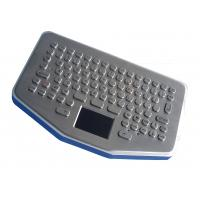 Quality 92 keys 2.00 Long stroke industrial metal coal mine keyboard with touchpad for sale
