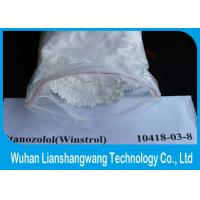 Wholesale CAS 10418-03-8 Oral Anabolic Steroids Bodybuilding Prohormones Stanozolol Winny Winstrol Powder from china suppliers