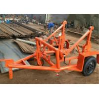 Wholesale Multifunction Underground Cable Tools 3 Tons cable drum trailer for transporting from china suppliers