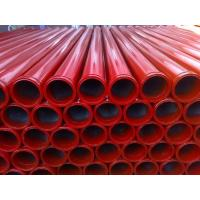 "Wholesale 5"" 3m 4.5mm 157mm HD end seamless long life time concrete pump pipe from china suppliers"