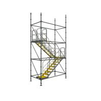 Buy cheap Flexible to assemble and disassemble Ring-lock convenient Scaffolding Stair Towers from wholesalers