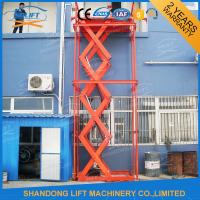 Wholesale Warehouse Hydraulic Scissor Lifting Equipment for Cargo Loading / Material Handling from china suppliers