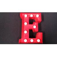 Wholesale Custom Decorative Indoor LED Letter Lights , Vintage Illuminated Marquee Letters from china suppliers
