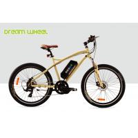 Wholesale 32Km / H Mens Mid Motor Electric Bike 36V 350W Mountain Bicycle 26 Inch Aluminum Frame from china suppliers