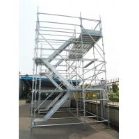 Wholesale Dynamic Frame Stair Tower Aluminium Construction Scaffolding , Fast packaged Simple from china suppliers