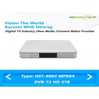 Wholesale Terrestrial DVB T2 Set Top Box H 264 Full HD STB Satellite Receiver With Smart Card USB 2.0 from china suppliers