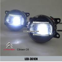 Wholesale Citroen C6 car front fog light LED DRL daytime running lights aftermarket from china suppliers