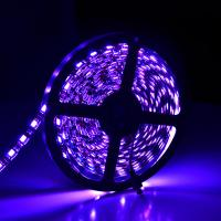 Wholesale Single Row  RGB + White interval 5050 Flexible LED Strip Lights 12V 14.4 Watt Waterproof from china suppliers