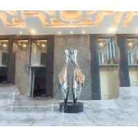 ODM / OEM Modern Abstract Sculpture Polished For Indoor Amazing Decoration