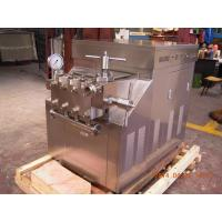 Wholesale Industrial High Pressure Homogenizer 90mpa High Power 2500ltr / Hr from china suppliers