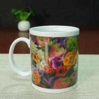Wholesale Ceramic temperature changing mugs cup hearts gift  AB grade from china suppliers