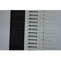 Wholesale White Barcode Store Shop AM Soft Anti Theft Security Labels 58kHz 1.9mm Thickness from china suppliers