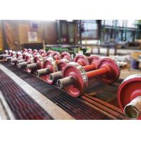 Quality Carbon steel foundry cooling line rail wheel freight wagon wheel for sale