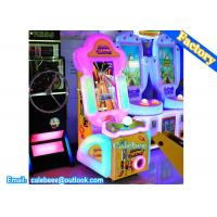Quality Children Amusement Tickets Redemption Gift Game parkour racing kids machine for sale