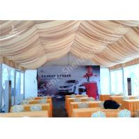 Wholesale Roof Lining PVC Fabric Cover Outdoor Aluminum Profile Car Exhibition Tent from china suppliers