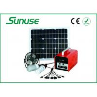 Wholesale Portable Whole house off grid 30W Solar Power System for flat roof from china suppliers
