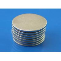 Wholesale Small 1.5mm Super Thin Strong Neodymium Disc Magnets With Nickel Plated from china suppliers