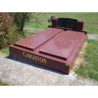 Quality Double Granite Tombstone (LY-194) for sale