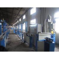 Quality PLC Hdpe Pipe Extrusion Machine , Horizontal High Speed Screw Extruder Machine for sale