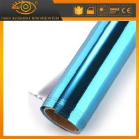 Wholesale High heat rejection self-adhesive PET solar window film silver blue building film from china suppliers