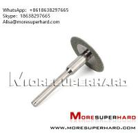 Wholesale Diamond rotary cutting disc, mini discs Alisa@moresuperhard.com from china suppliers