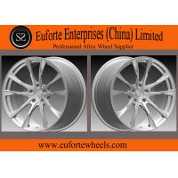 "Wholesale Susha wheels-Double 5Spoke 1pieceForged Wheels With Black Machined Face 18'' 19''  20'' 21"" 22"" from china suppliers"