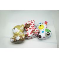 Wholesale OEM Colorful Teddy Bear Coffee / Money Tin Box 0.25 MM Thickness from china suppliers