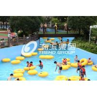 Wholesale Swimming Pool Equipment Lazy River Water Park For Giant Water Park One Year Guarantee from china suppliers