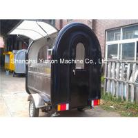 Wholesale Fast Mobile Street Food Vans Ice Cream Vending Cart With Two Big Wheels Food Truck from china suppliers