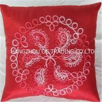 Buy cheap Handmade ribbon cushion cover from wholesalers