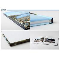 Wholesale Coloring photo book , flat book spine , horizontal format , inner pages sewing and glue bound from china suppliers