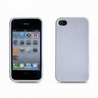 Buy cheap Silicone Case for Apple's iPhone 4, Protects Full Back and Side from Scratches from wholesalers