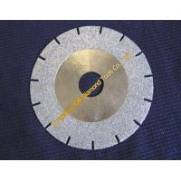 Wholesale U-slot Electroplated blades with diamond coated side from china suppliers