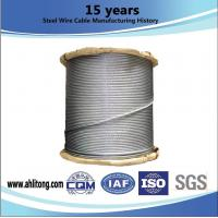 Wholesale Hot Dip Galvanized Guy Cable Wire For HT Stay Wire , 100-300g/M2 Zinc Coating Weight from china suppliers