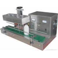 Wholesale Automatic Aluminum Foil Lid Sealing Machine With 1-200 Bottles / Min Capacity , 220V/50HZ from china suppliers