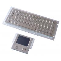 Wholesale Vandal proof industial keyboard integrate touchpad pointing device USB or PS/2 interface from china suppliers