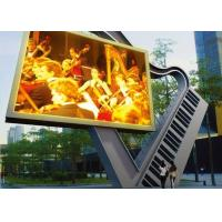 Quality 10mm P10 Advertising LED Signs , Outdoor Advertising LED Display Screen for sale