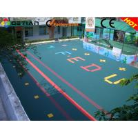 Wholesale Multipurpose Kindergarten Flooring , Outdoor Playground Rubber Flooring Tile from china suppliers