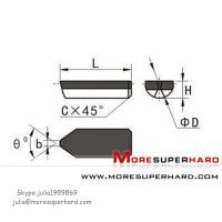 Wholesale PCD Boring Cutter for carbide Roller,PCD Roller Inserts(Skype:julia1989869) from china suppliers