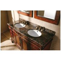 Wholesale Ogee Edge Granite Bathroom Countertops , Baltic Brown Granite Countertops from china suppliers