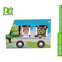 Wholesale Indoor Corrugated Cardboard Furniture Kitty House Cat Bus Environmental from china suppliers
