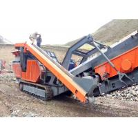 Quality Strong Broken Ability Mobile Crushing Plant Flexible Configuration / Wide Application for sale