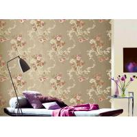 Wholesale Flower Pattern American Vintage Country Style Wallpaper With Embossed Surface from china suppliers