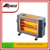 Wholesale infrared radiant quartz heater SYH-1206S 2400W electric heater for room indoor saso/ce/coc certificate three side from china suppliers