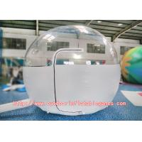 Wholesale Family Camping Inflatable Dome Tent / 0.8mm PVC Inflatable Lawn Tent Clear from china suppliers