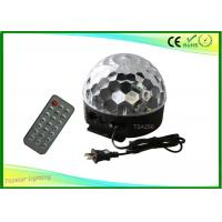 Wholesale DMX LED Magic Ball Light Sound Activate With Remote Control 6w from china suppliers