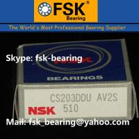 Wholesale NSK Deep Groove Ball Bearings CS203DDU Insert Bearings for Printing Machine from china suppliers